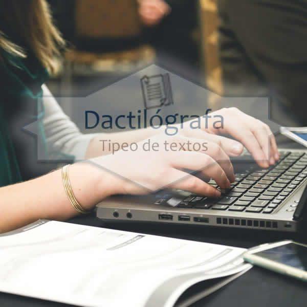 Carilla de tipeo oficio envío digital