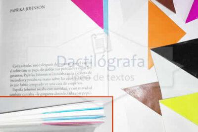 Señaladores origami de papel glacé – 50 unidades